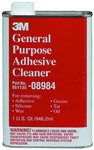 CLEANERS AND ADHESIVES